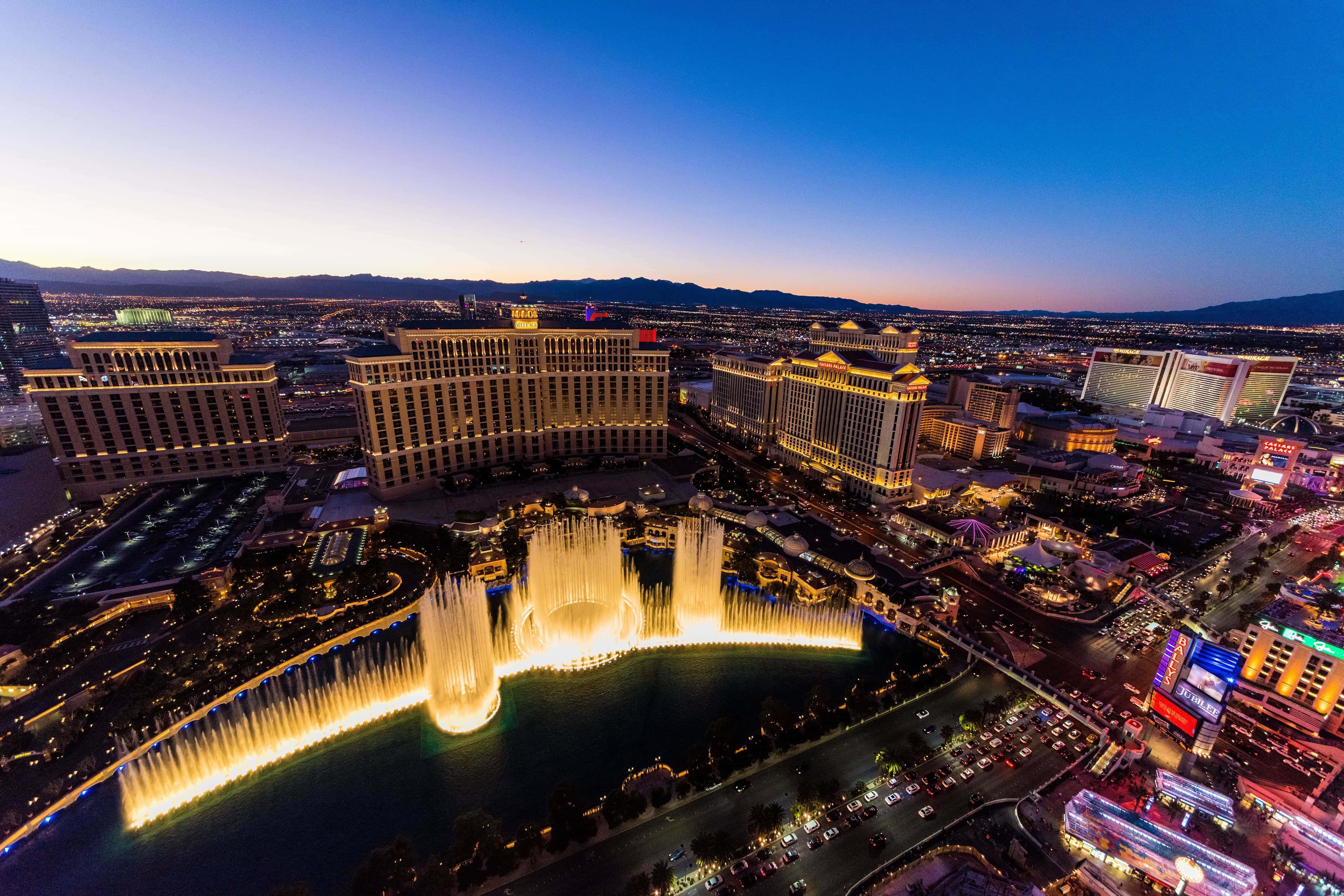 Las Vegas views from above