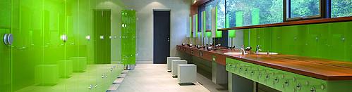 Sanitaertrennwaende Garderoben