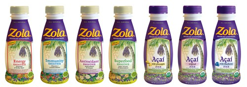 Zola Juices and Smoothies