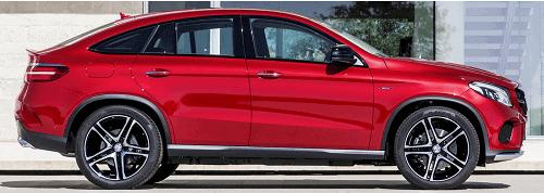 Mercedes GLE Coupe C292 W166 bis 2019 sicherste Alarmanlage
