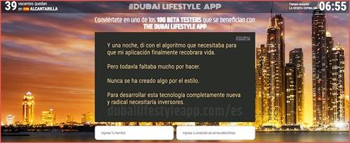 Dubai Lifestyle App revision