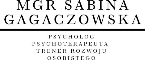 Psycholog Mgr Sabina Gagaczowska
