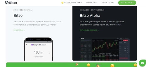 Bitso pagina web
