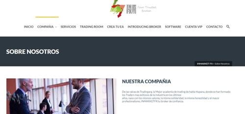 Inmarket FX Pagina Web