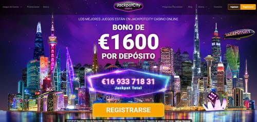 jackpot City página web