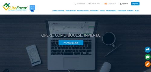 Liteforex pagina web
