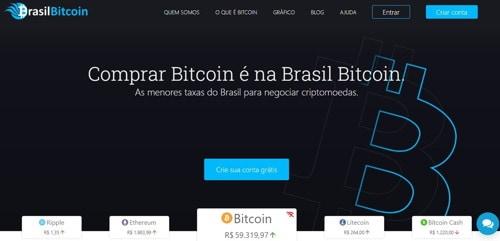 Brasil Bitcoin pagina web