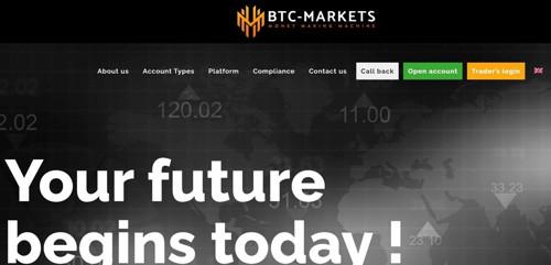 Btc Markets pagina web