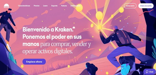 kraken pagina web