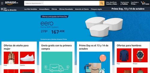estafas Amazon web