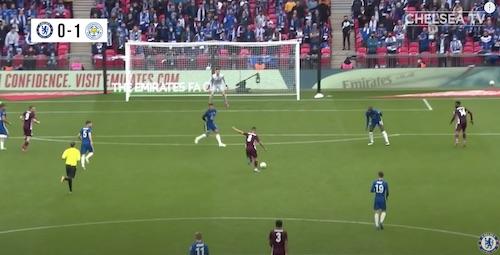 Silva Hands Behind Back Defending