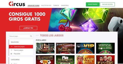 circus página web