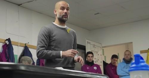 Pep Guardiola Half-Time Talk