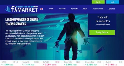 Fx market pro pagina web