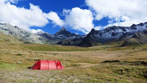 Frankreich Alpen Esel Trekking