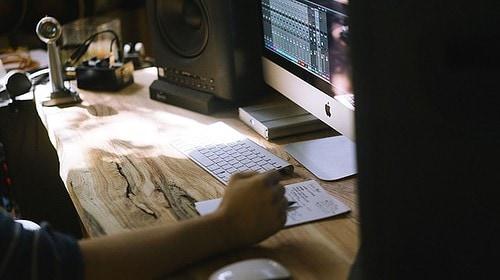 planning, desk, computer