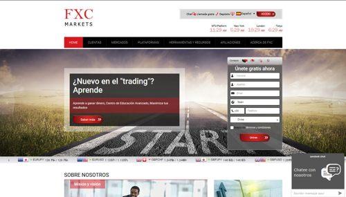 FXC Markets revisión