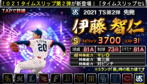 2021TS2-伊藤智仁-バッティングトラベラー