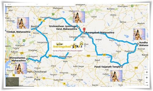 jyotirlinga maharashtra map