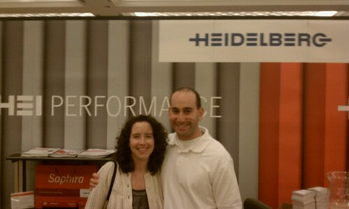 Michael & Lindsey at the Heidelberg Booth