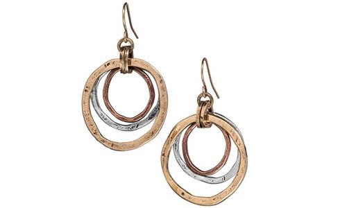 Handcrafted statement earrings | 40plusstyle.com