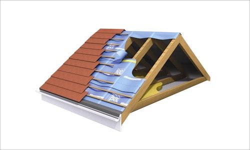 Строение скатной крыши.
