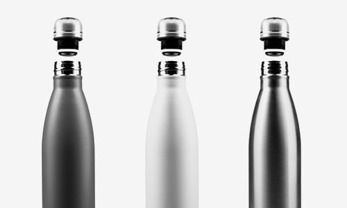 Mesh01 Concept Testing Bottles