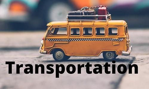 Van transportation service