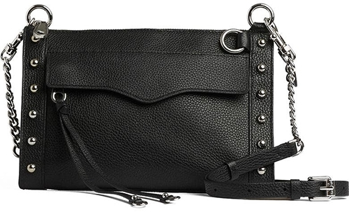 Rebecca Minkoff M.A.B. Leather Bag | 40plusstyle.com