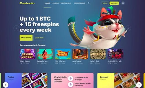 casinoin página web