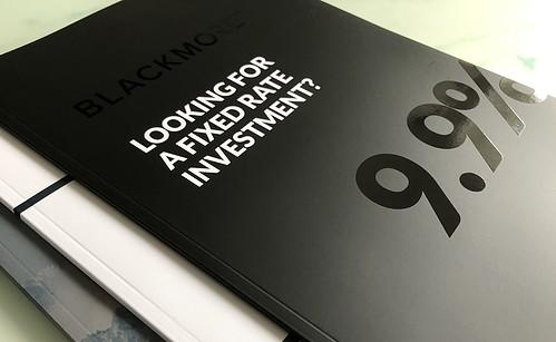 spot uv brochure
