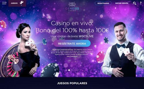 Genesis Casino revision