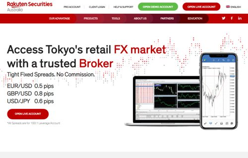 Rakuten Securities revision