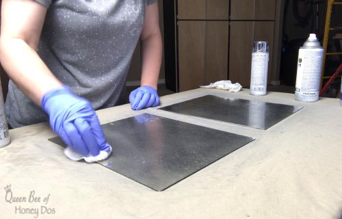 How To Make Distressed Antiqued Mirror