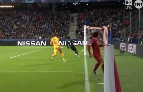 Mo Salah No Angle Goal