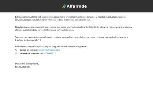 Alfa Trade revision