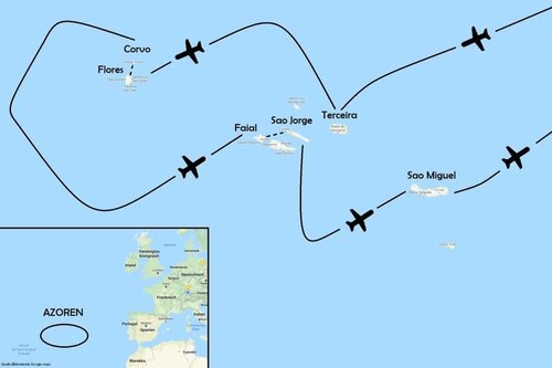 Trekking Azoren