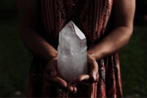 crystals manifesting