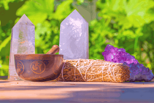 positive affirmations crystals
