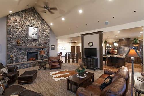 Interior of a SIP home