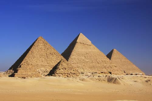 The Great Pyramids of Giza, Cairo