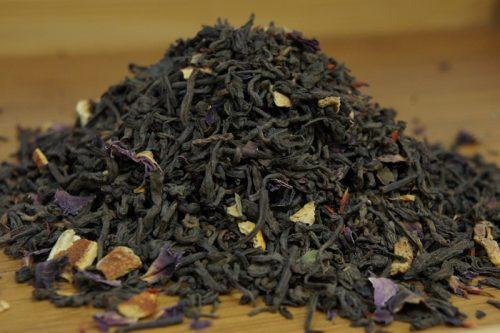 Купить настоящий китайский россыпной чай шу пуэр Сладкий Апельсин Оптом и в розницу с доставкой. Фото.