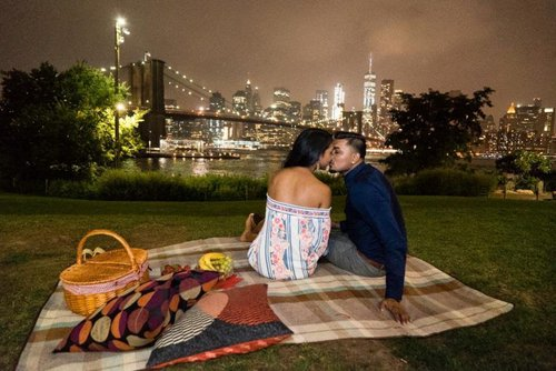 Brooklyn bridge picnic proposal