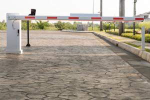 Gate access arm