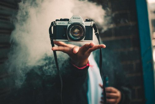camera, magic, magician