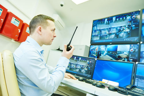 CCTV video monitoring surveillance