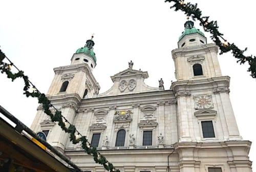 ザルツブルク 大聖堂の外観の画像