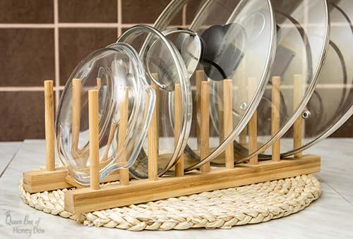 dowel rod dish rack
