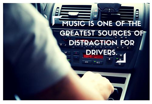Music Is a Distraction 500x343