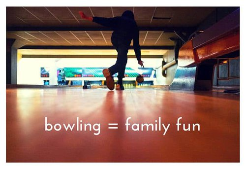 bowling=family fun 715